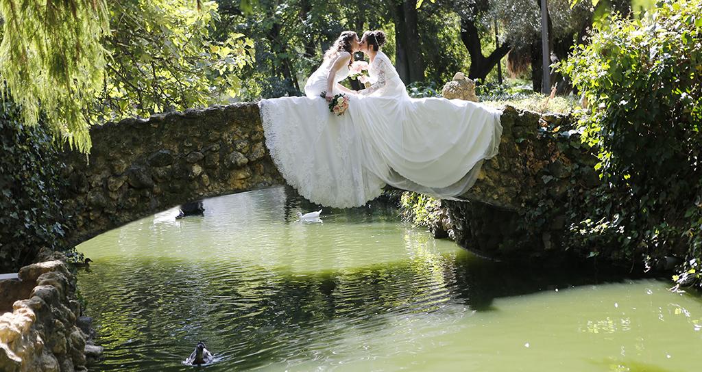 Su boda… Ellas!!